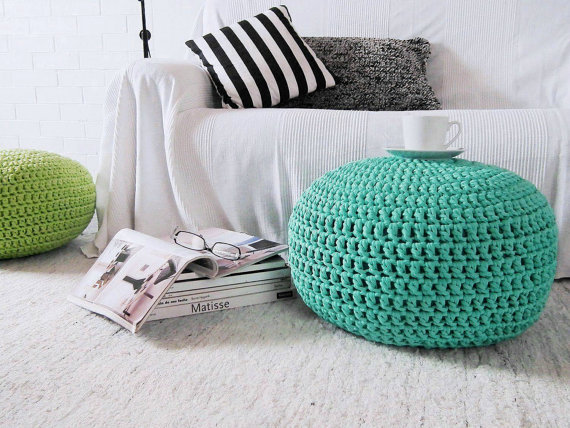 decorar con puffs de crochet I