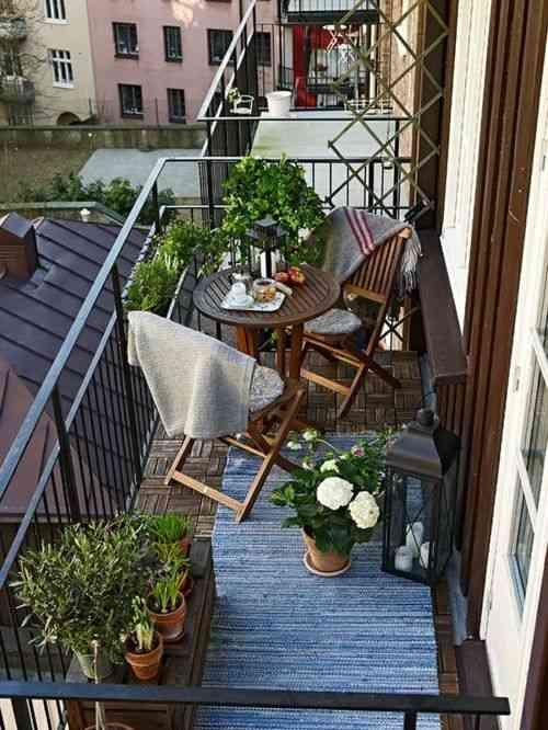 decorar el balcon IV