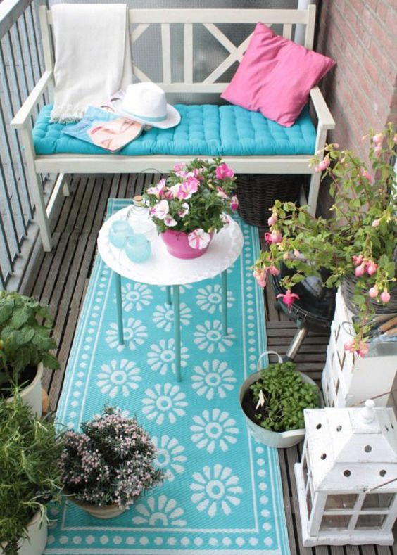 decorar el balcon V