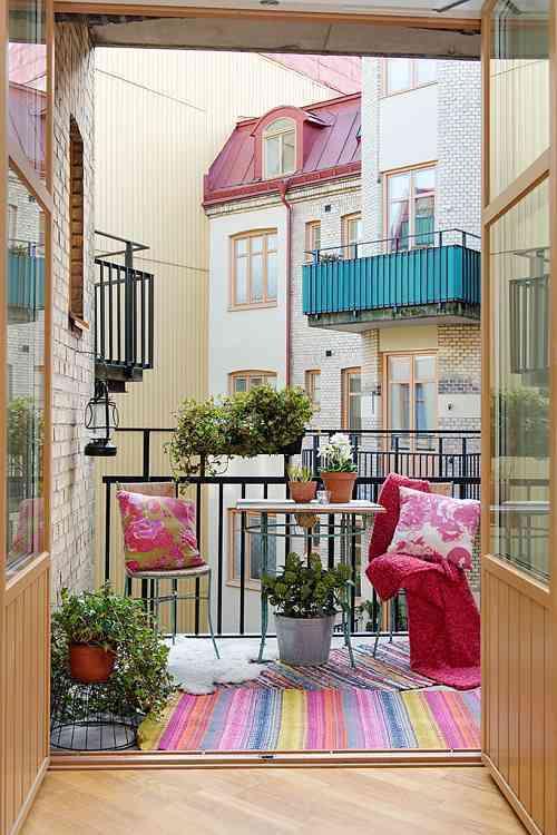 decorar el balcon VII