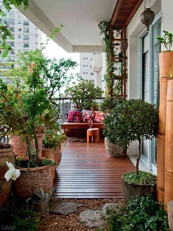 decorar el balcon VIII