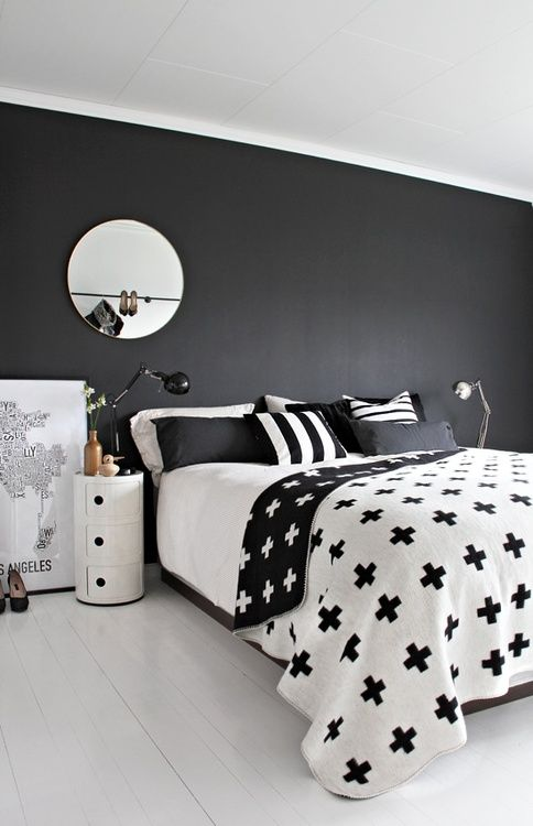 decorar en blanco y negro I