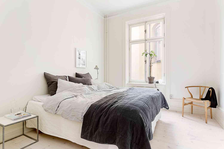 dormitorio de estilo nordico V