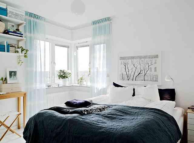 dormitorio de estilo nordico VI