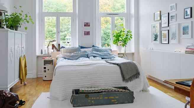 dormitorio de estilo nordico VII