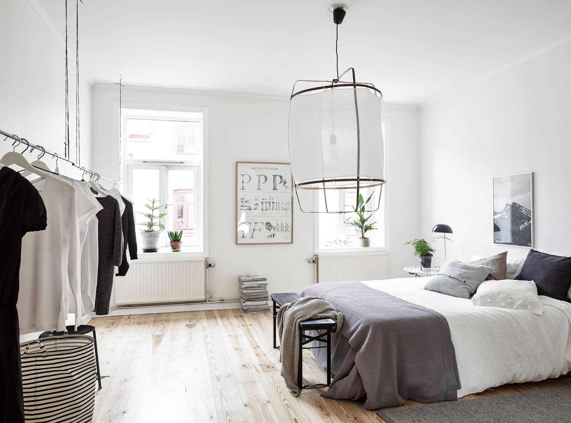 dormitorio de estilo nordico VIII