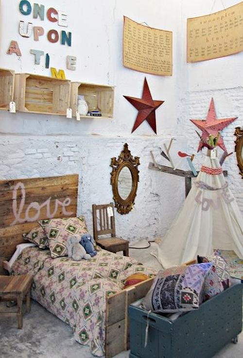 dormitorios infantiles de estilo bohemio V
