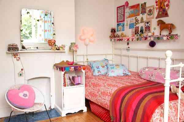 dormitorios infantiles de estilo bohemio VII