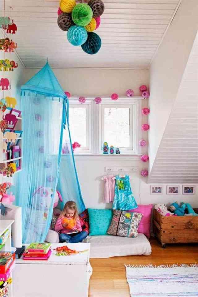 Dormitorios infantiles de estilo bohemio - Decoracion dormitorios infantiles ...