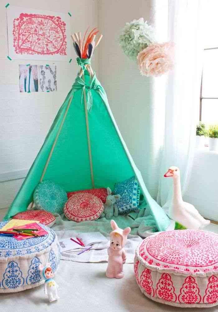 dormitorios infantiles de estilo bohemio XI