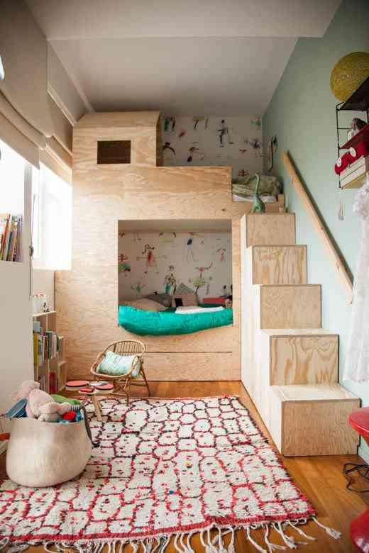 habitaciones infantiles con literas V