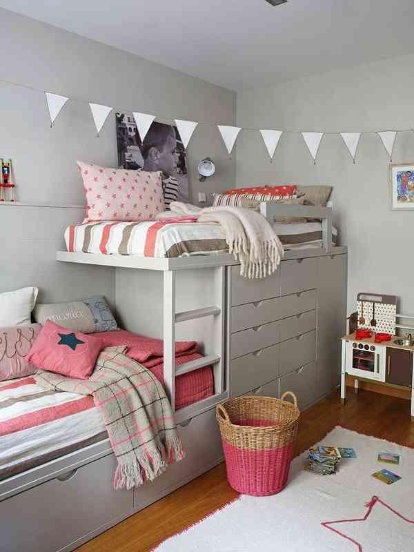 habitaciones infantiles con literas VI