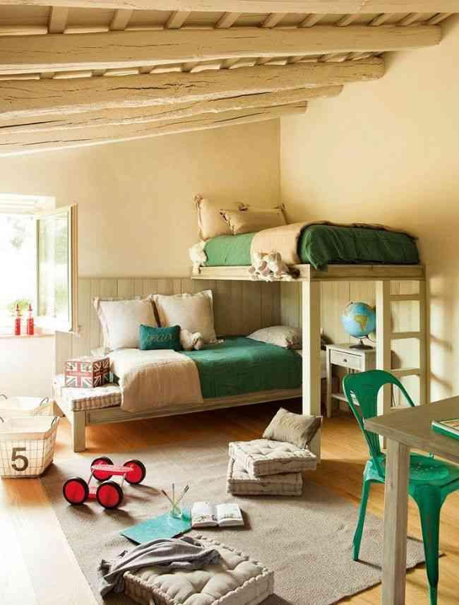 habitaciones infantiles con literas VII