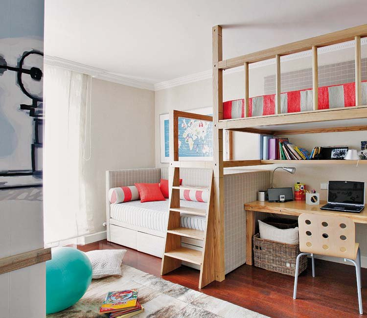 habitaciones infantiles con literas VIII