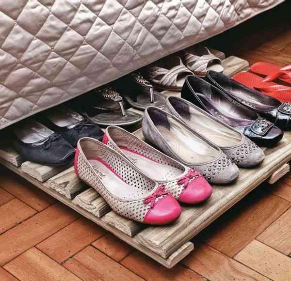 ideas para guardar zapatos V