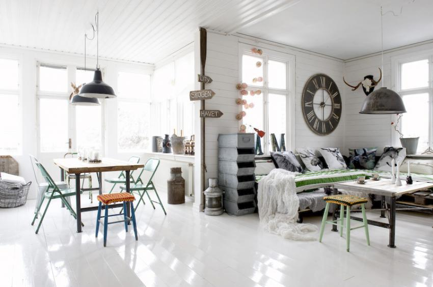 salon de estilo industrial VIII