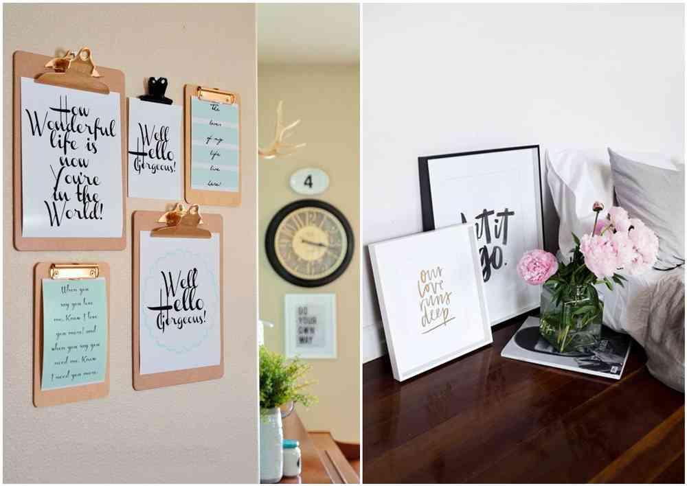 decorar con lettering III