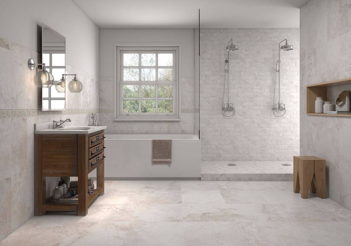 diseno ceramico - KERABEN - AM_GRAVITY_WHITE_25X50_CONCEPT_GREY_8X25_MATE_WHITE_50X50_SD