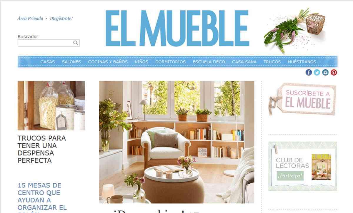 9 revistas de decoraci n online que tienes que conocer for El mueble online