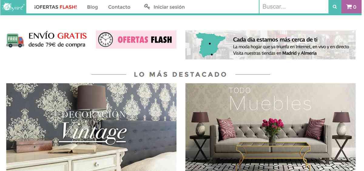 6 tiendas de decoraci n online espa olas que no conoc as - Tienda decoracion casa online ...