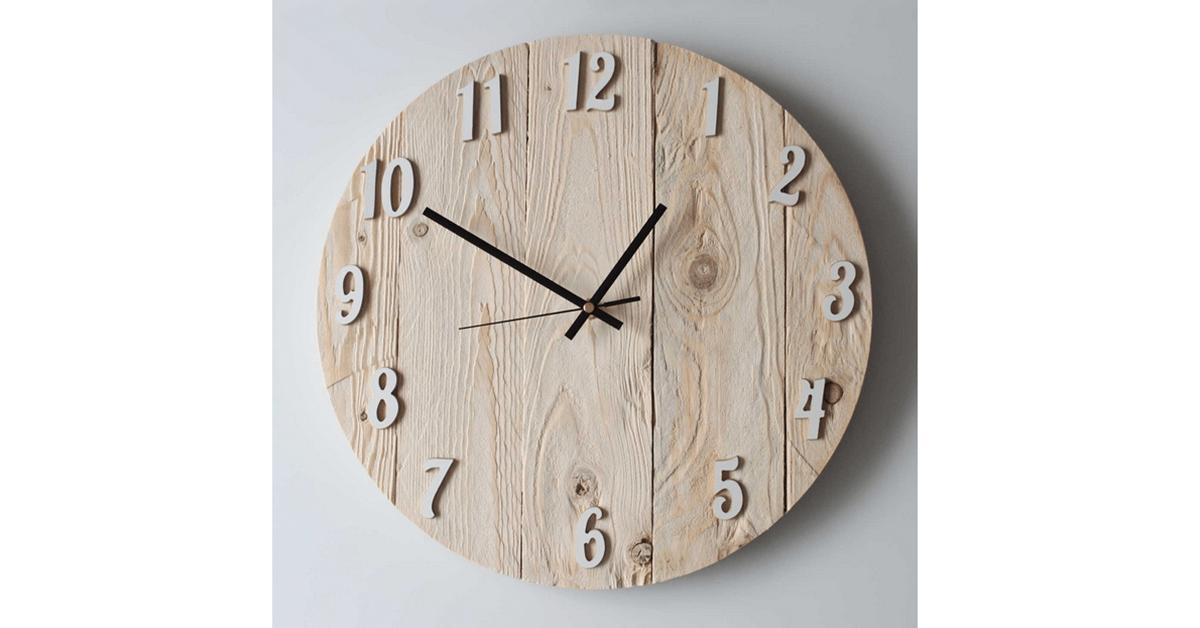 9 relojes decorativos que querr s tener en tu casa for Relojes de cocina modernos