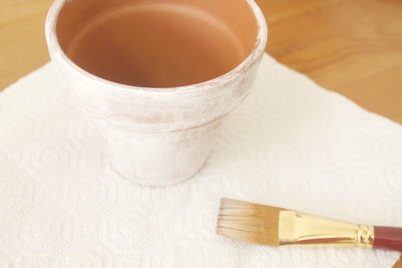 tunear maceteros con pintura III