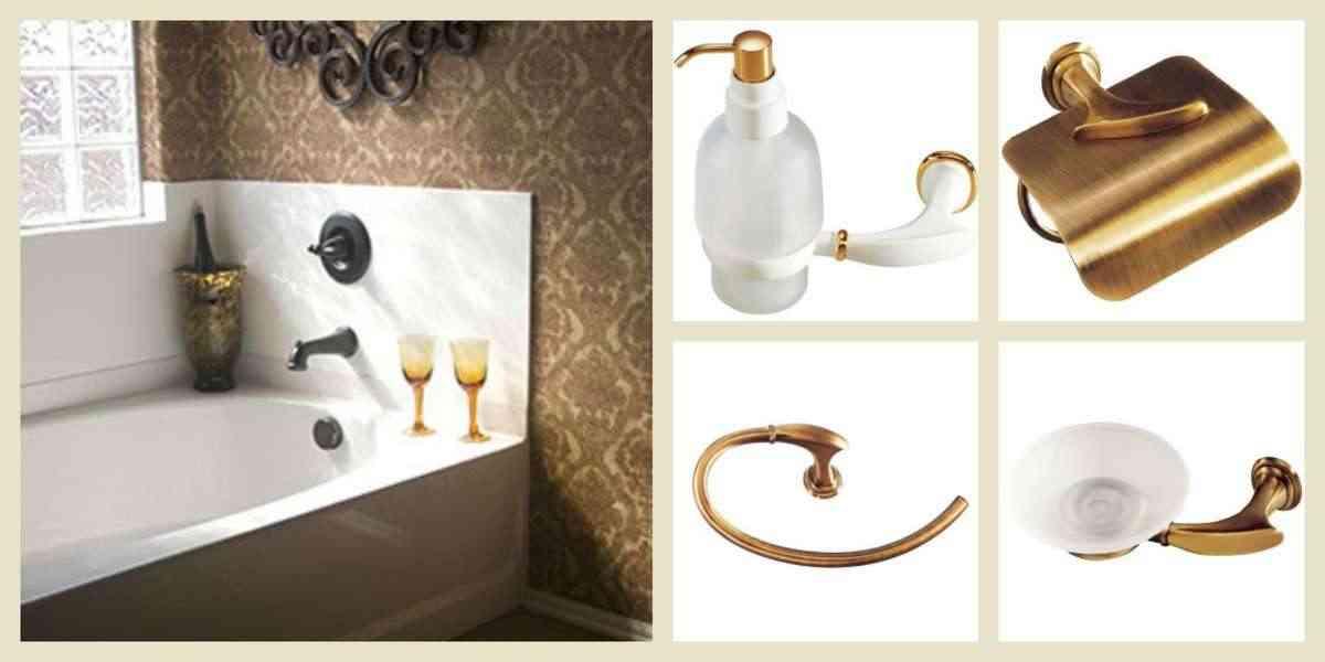 accesorios en los baños de diseño - accesorios de bano - juncal