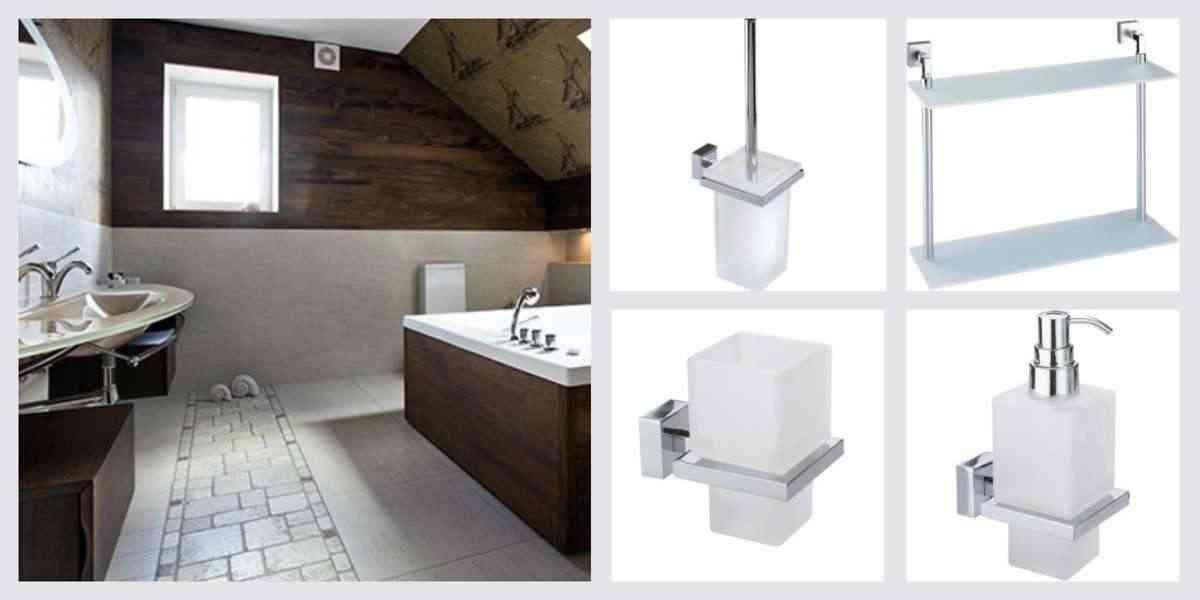accesorios en los baños de diseño - complementos de bano - keos