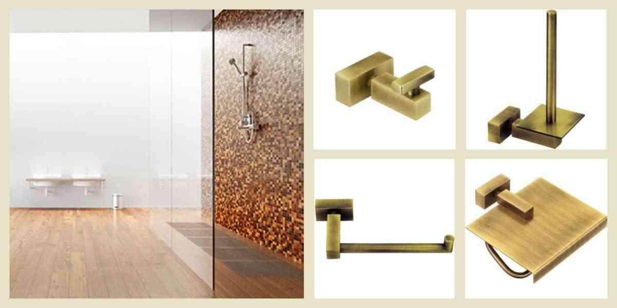 accesorios en los baños de diseño - complementos de bano - lineas