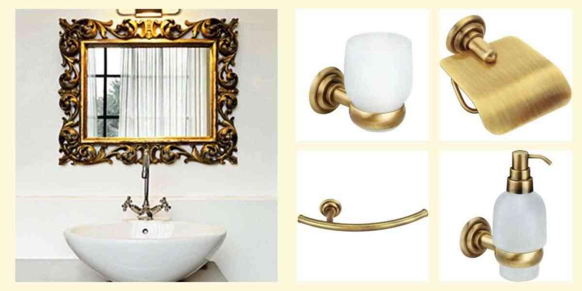 accesorios en los baños de diseño - complementos de bano - siena