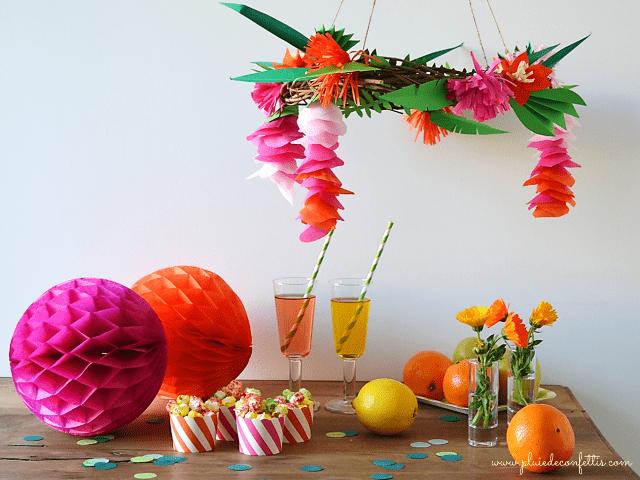 decoracion de una fiesta de verano I