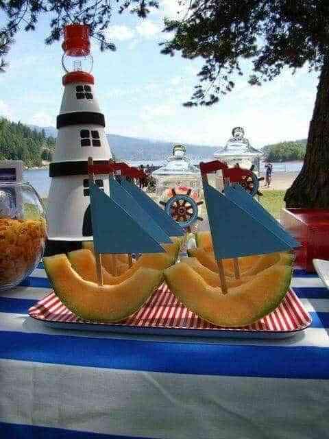 decoracion de una fiesta de verano XV