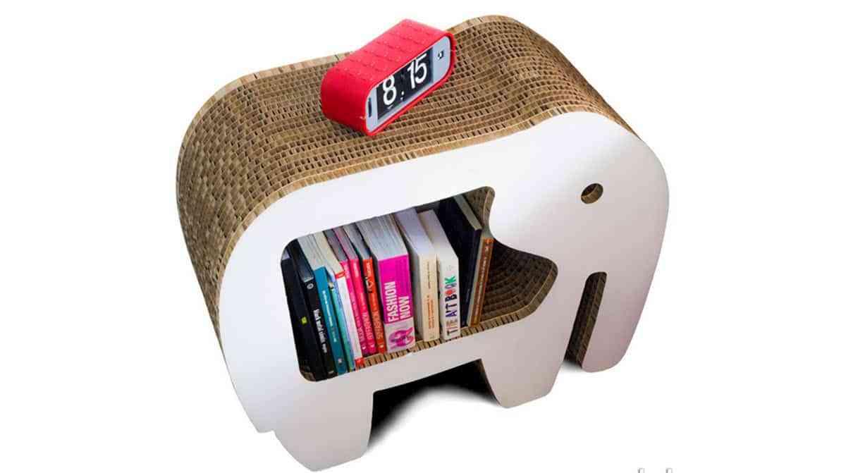 10 originales muebles de cart n que querr s tener en tu hogar for Muebles zapateros originales