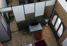 Reforma de piso con estilo retro y moderno