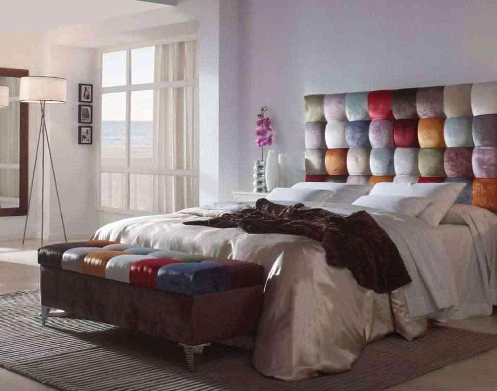Cabeceras de cama tapizadas elegant cabecero with - Cabeceros tapizados originales ...