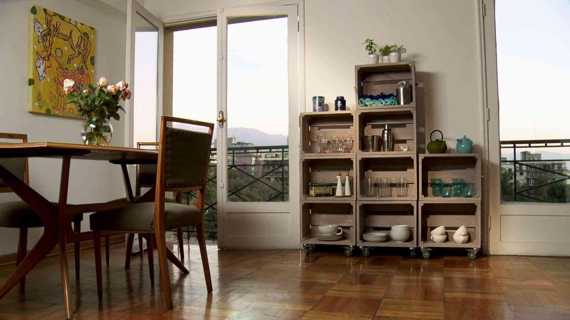 8 estanter as para casa que puedes hacer t mismo for Diseno de muebles con cajones de verduras