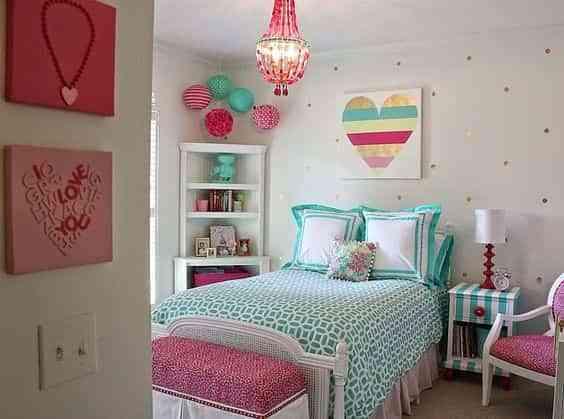 10 originales ideas para pintar una habitaci n juvenil - Colores para pintar una habitacion juvenil ...