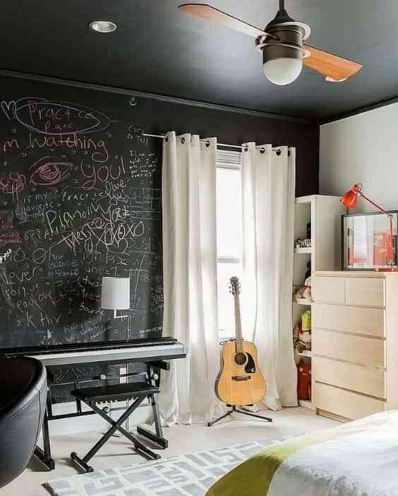 pintar una habitacion juvenil V