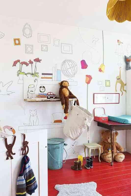 pintar una habitacion juvenil VII