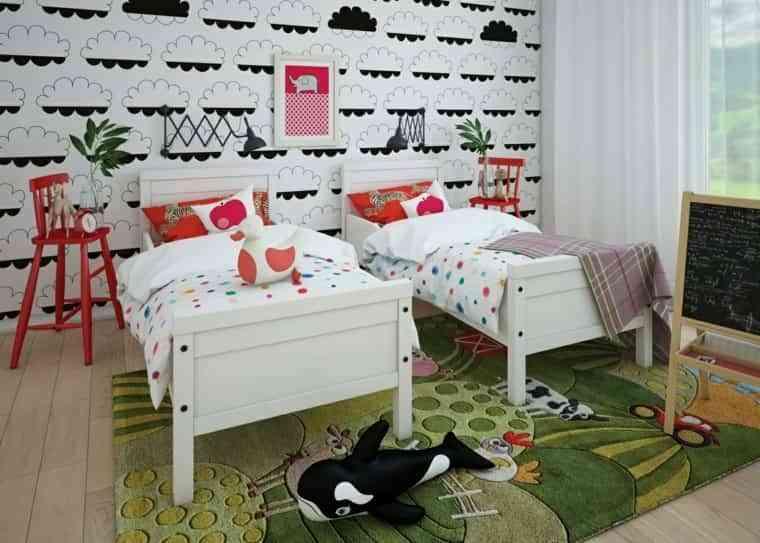 Dormitorios de dos camas I