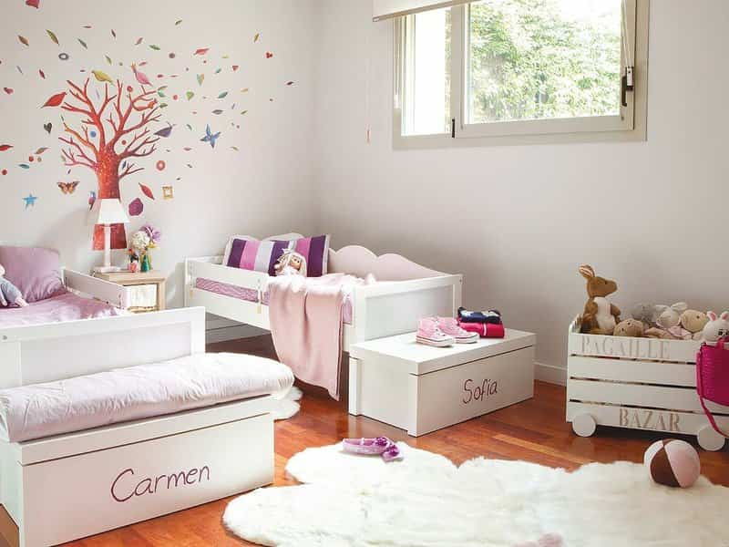 Dormitorios de dos camas IX