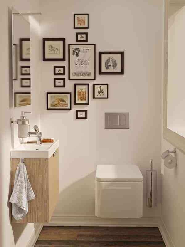 Ideas para cuartos de ba o peque os y modernos for Cuarto de bano pequeno