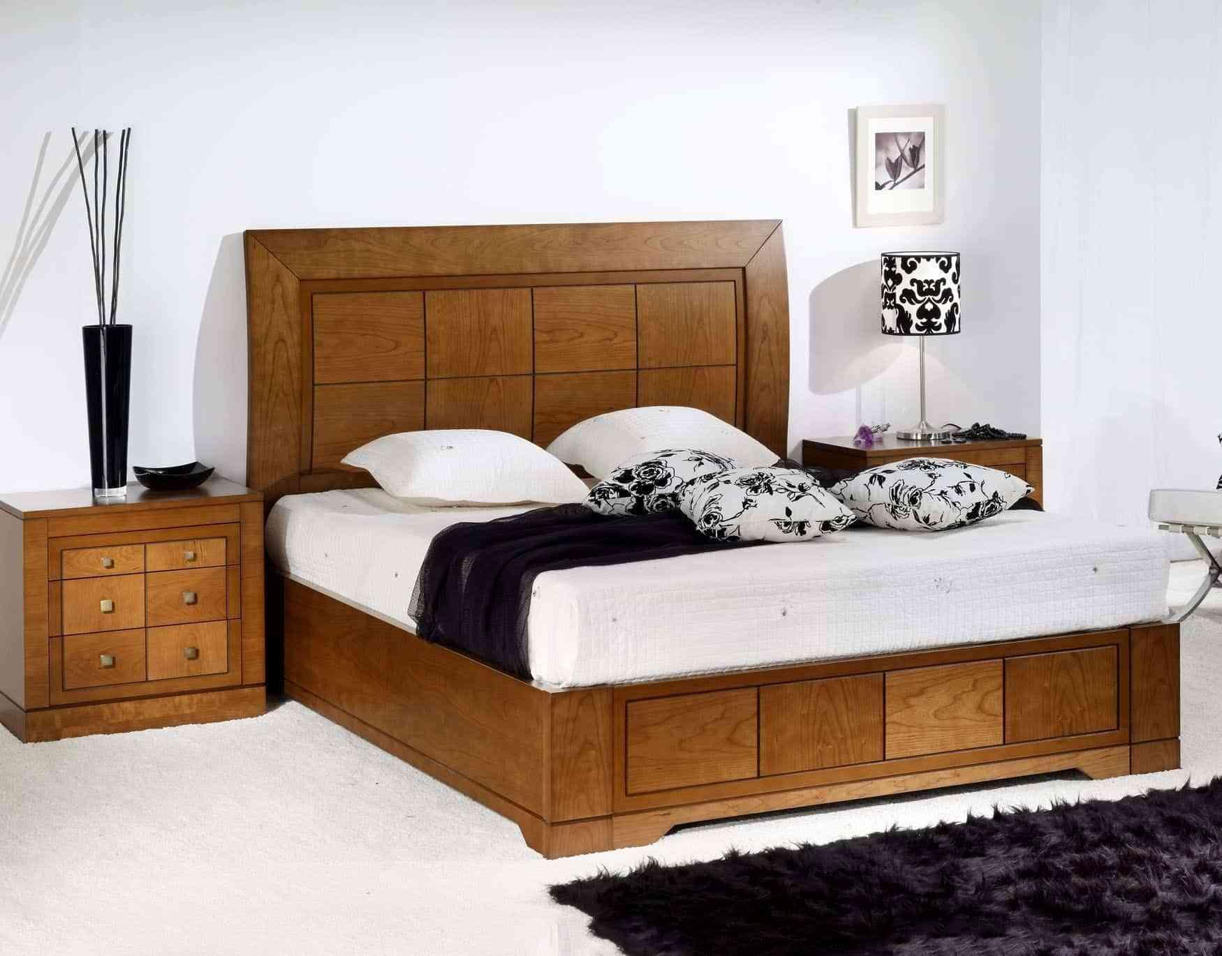 """Fuente: a href=""""http://www.lasandecoracion.es/tienda/dormitorios-de-matrimonio/dormitorios-de-matrimonio-en-madera-de-cerezo/"""">lasandecoracion.es"""