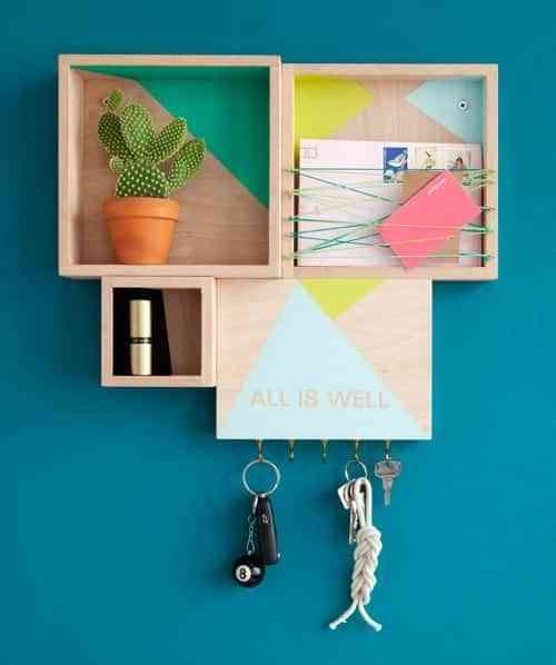 pintar cajas de madera IX