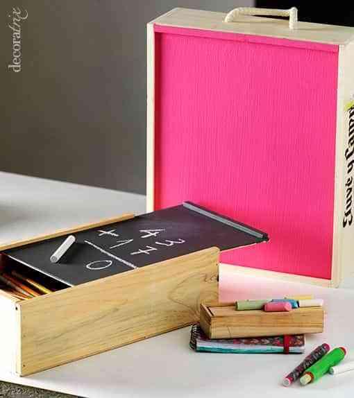 pintar cajas de madera VII