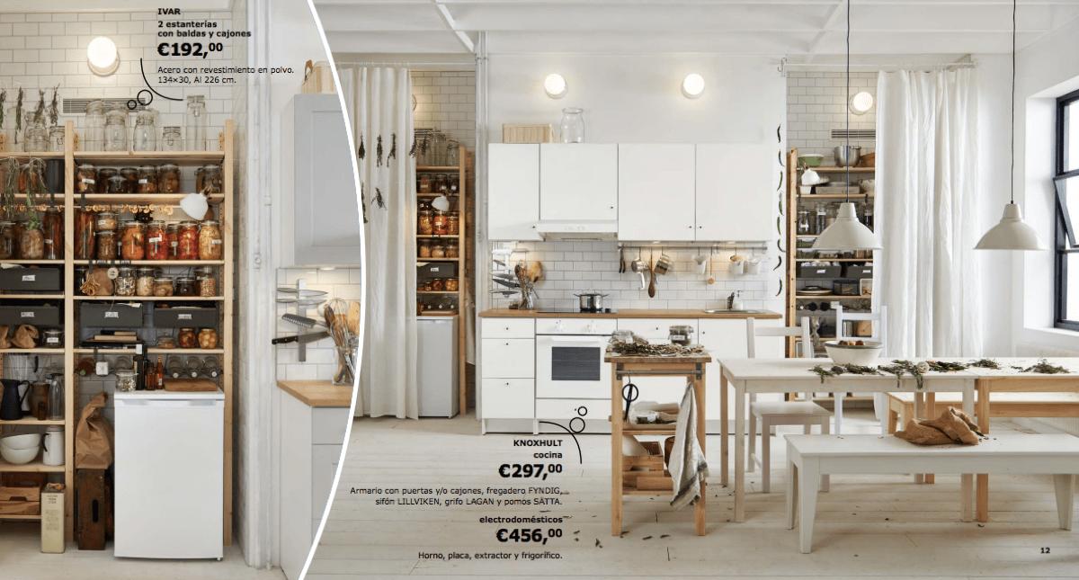catálogo IKEA 2017 novedades cocinas