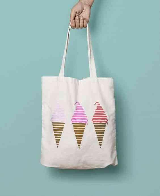 bolsos de lona pintados I