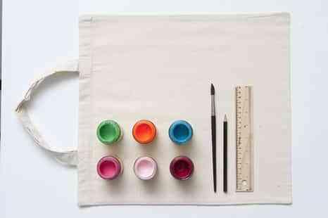 bolsos de lona pintados III