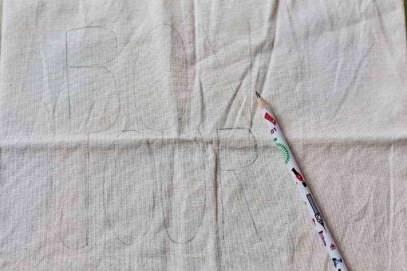 bolsos de lona pintados IV