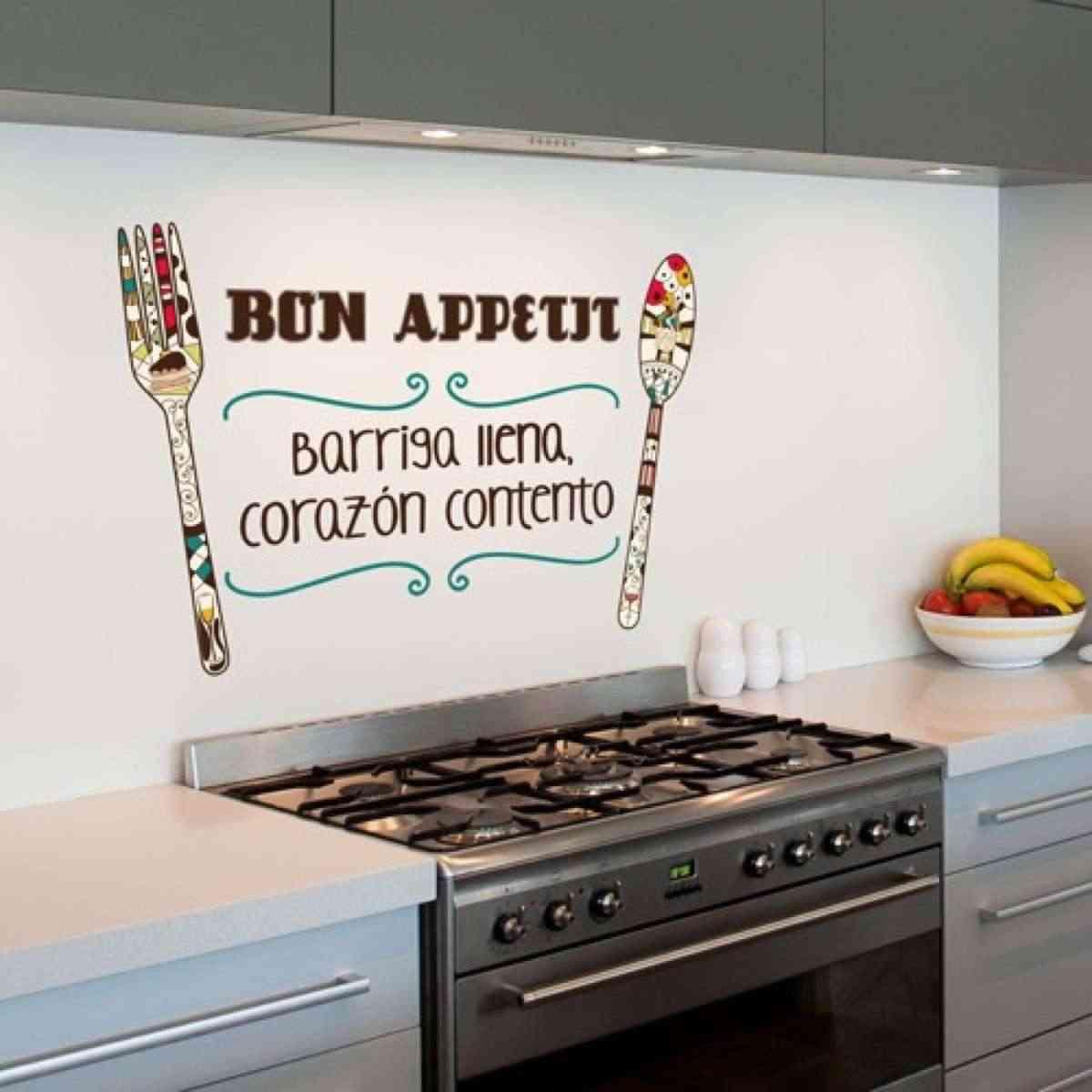 16 l minas decorativas para la cocina para empezar el d a con buen pie - Dibujos de cocina ...